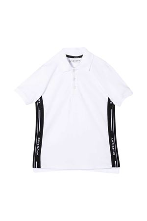 Polo bianca teen Givenchy Kids Givenchy Kids | 2 | H2522110BT