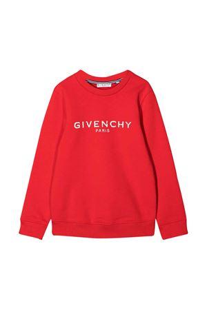 Felpa rossa teen Givenchy kids Givenchy Kids | -108764232 | H25J45991T