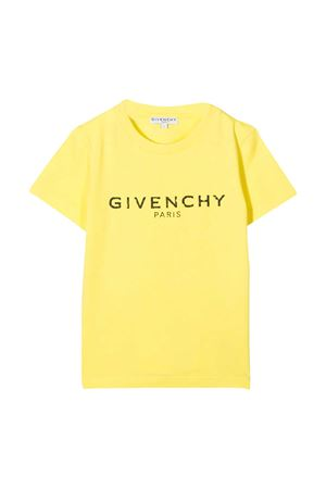 Yellow t-shirt Givenchy kids Givenchy Kids | 8 | H25J47508