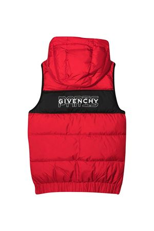 Gilet rosso teen Givenchy Kids Givenchy Kids | 783955909 | H26060991T