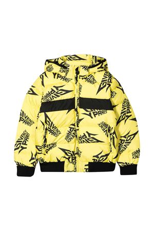 Yellow down jacket teen Givenchy Kids Givenchy Kids | 783955909 | H26062508T