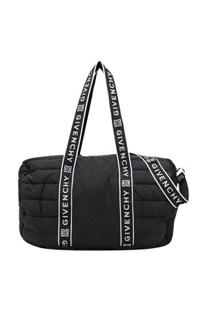 Sacca fasciatoio nera Givenchy Kids Givenchy Kids | 1213468668 | H9006609B