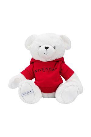 Felpa rossa Teddy Bear bianco Givenchy Kids Givenchy Kids | -108764232 | H9KJ16N79