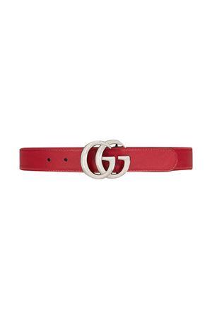 Red belt Gucci Kids  GUCCI KIDS | 22 | 432707B960N6617