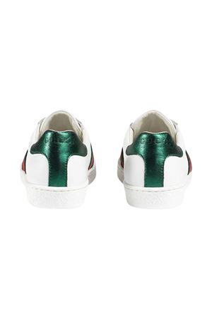 White and green sneakers Gucci Kids  GUCCI KIDS | 90000020 | 433148CPWE09075