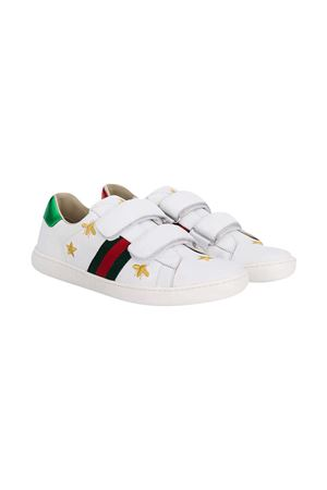 Sneakers bianche teen Gucci kids GUCCI KIDS | 90000020 | 5087800II409064T