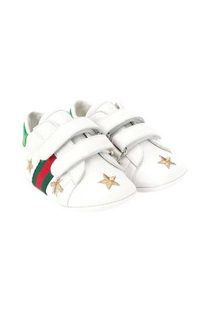 White baby shoes Gucci kids  GUCCI KIDS | 90000020 | 552926BKPY09069