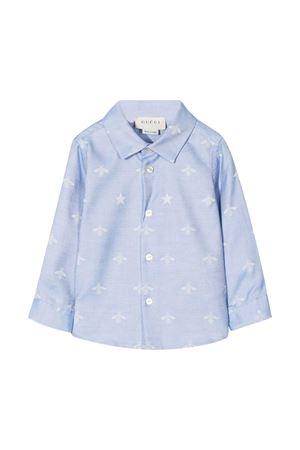 Baby blue shirt Gucci Kids  GUCCI KIDS | 5032334 | 574545XWAFI4910