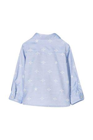 Camicia azzurra neonato Gucci Kids GUCCI KIDS | 5032334 | 574545XWAFI4910