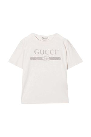 T-shirt bianca Gucci Kids GUCCI KIDS | 8 | 586167XJCPW9247