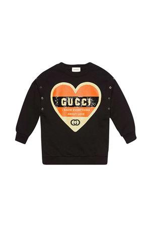 Felpa con stampa Gucci Kids GUCCI KIDS | -108764232 | 612188XJCTU1152