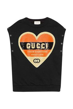 Black sweatshirt Gucci Kids  GUCCI KIDS   -108764232   612188XJCTU1152