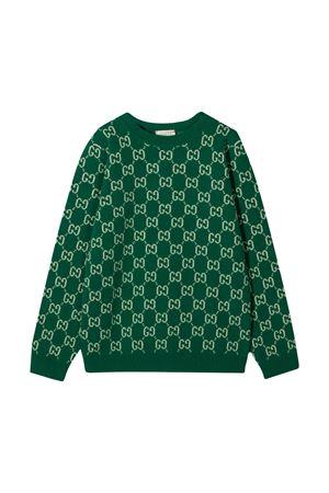 Maglia verde Gucci Kids GUCCI KIDS | 7 | 615384XKBD73012