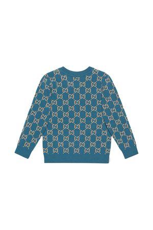 Blue sweater Gucci Kids  GUCCI KIDS | 7 | 615384XKBD74194