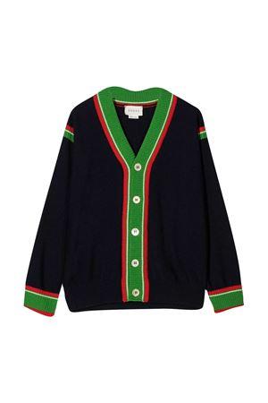 Cardigan nero Gucci kids GUCCI KIDS | 39 | 615387XKBD84585
