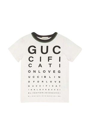 White t-shirt Gucci Kids  GUCCI KIDS | 8 | 616998XJCPZ9061