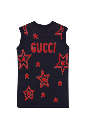 Blue dress Gucci kids GUCCI KIDS | 11 | 621856XKBGX4696