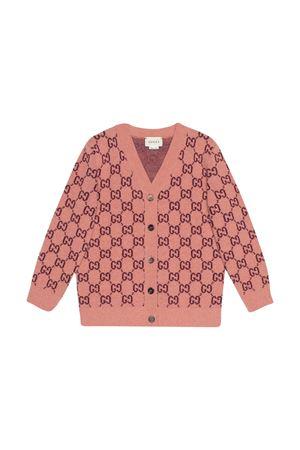 Cardigan rosa Gucci kids GUCCI KIDS | 39 | 621861XKBD75688