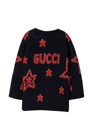 Cardigan blu Gucci kids GUCCI KIDS | 39 | 621872XKBGX4696