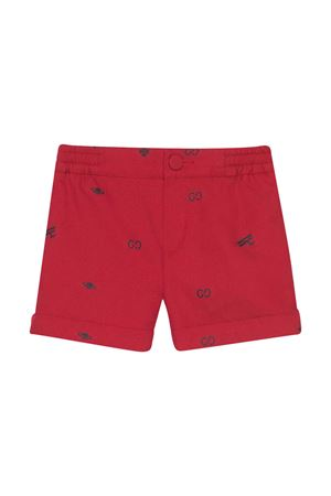 Red shorts with elastic waistband Gucci kids GUCCI KIDS | 30 | 626214XWAKM6006