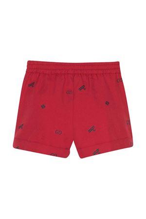 Shorts rossi con orlo arrotolato Gucci kids GUCCI KIDS | 30 | 626214XWAKM6006
