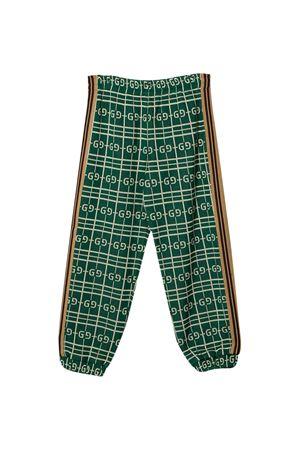 Green trousers Gucci kids  GUCCI KIDS | 9 | 626304XJCPK3872