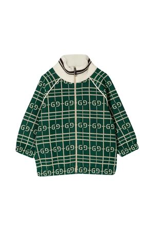 Cardigan verde Gucci kids GUCCI KIDS | 39 | 626306XJCPK3872