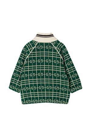 Green cardigan Gucci kids  GUCCI KIDS   39   626306XJCPK3872