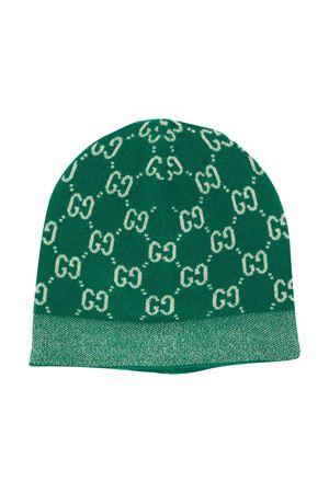 Berretto verde Gucci Kids GUCCI KIDS | 75988881 | 6275624K2063777