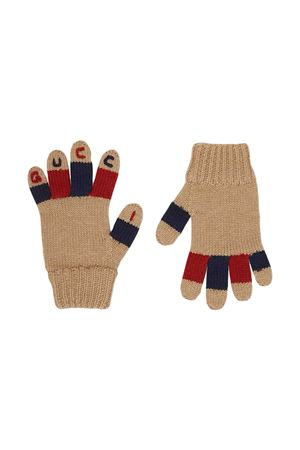 Beige gloves Gucci kids  GUCCI KIDS | 34 | 6275774K2069868