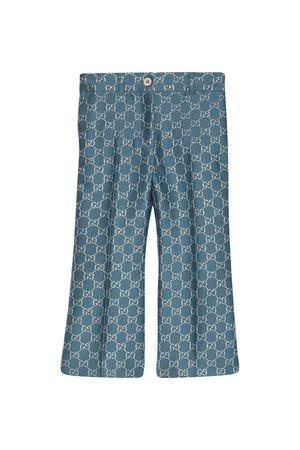 Pantalone con effetto metallizzato Gucci kids GUCCI KIDS | 9 | 629030ZAD7L4635