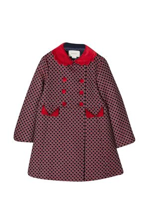 Blue and red coat Gucci kids  GUCCI KIDS | 17 | 629446XWALI4668