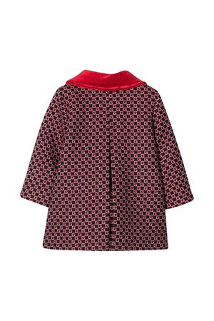 Cappotto rosso con pattern GG Gucci kids GUCCI KIDS | 17 | 629477XWALI4668