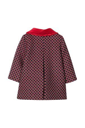 Red coat with GG pattern Gucci kids GUCCI KIDS | 17 | 629477XWALI4668