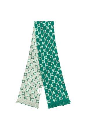 Sciarpa verde menta Gucci Kids GUCCI KIDS | 77 | 6294984K2063777