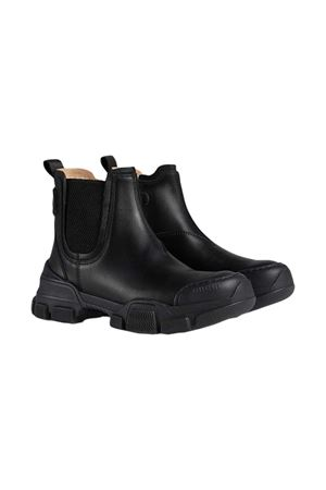 Black boots Gucci kids  GUCCI KIDS | 76 | 629739DTN501000