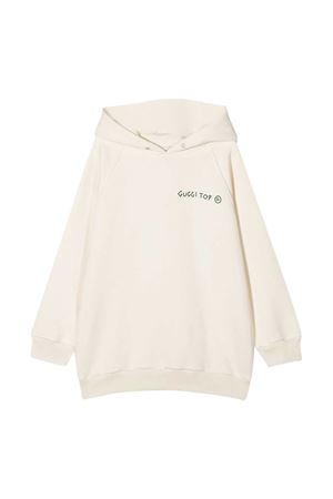 Gucci Kids white sweatshirt  GUCCI KIDS | -108764232 | 630582XJCTX9061