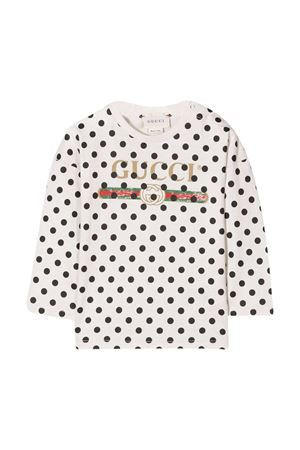 White baby shirt Gucci Kids GUCCI KIDS | 8 | 630730XJCTA9241
