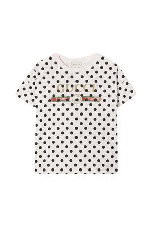 White Gucci kids t-shirt  GUCCI KIDS | 8 | 630735XJCTA9241