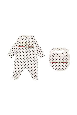 Polka dot newborn set Gucci Kids GUCCI KIDS | 75988882 | 630740XJCTA9241