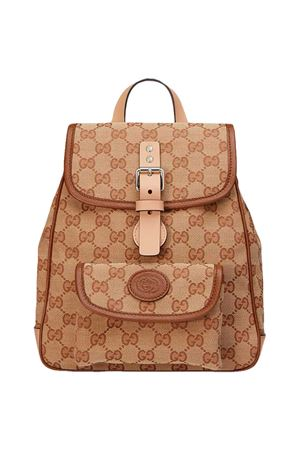 Beige backpack Gucci kids  GUCCI KIDS | 5032345 | 630818GY5IN9569