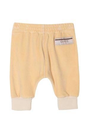 Pantaloni beige Gucci kids GUCCI KIDS | 9 | 631035XJCT89752