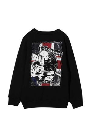 Black sweatshirt John Richmond Junior  JOHN RICHMOND KIDS | -108764232 | RBA20092FEG9BLACK
