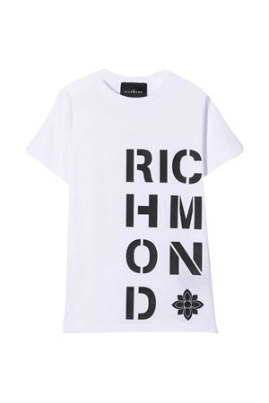White T-shirt John Richmond kids  JOHN RICHMOND KIDS | 8 | RBA20186TSLSWHITE/BLK