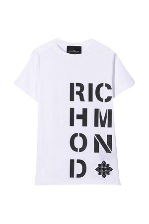 T-shirt bianca John Richmond kids JOHN RICHMOND KIDS | 8 | RBA20186TSLSWHITE/BLK