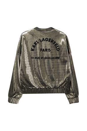 Bomber con ricamo Karl Lagerfeld Kids Karl lagerfeld kids | -276790253 | Z16084604