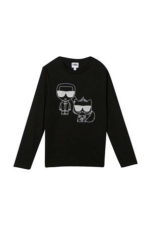 T-shirt nera Karl Lagerfeld Kids Karl lagerfeld kids | 8 | Z2524909B