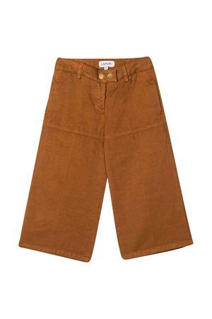 Brown trousers Lanvin kids  Lanvin enfant | 9 | N14004357