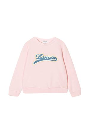Pink sweatshirt teen Lanvin kids  Lanvin enfant | -108764232 | N1500545ZT