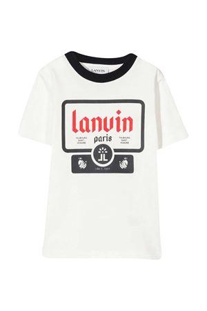 White t-shirt LANVIN KIDS Lanvin enfant | 8 | N25004N78